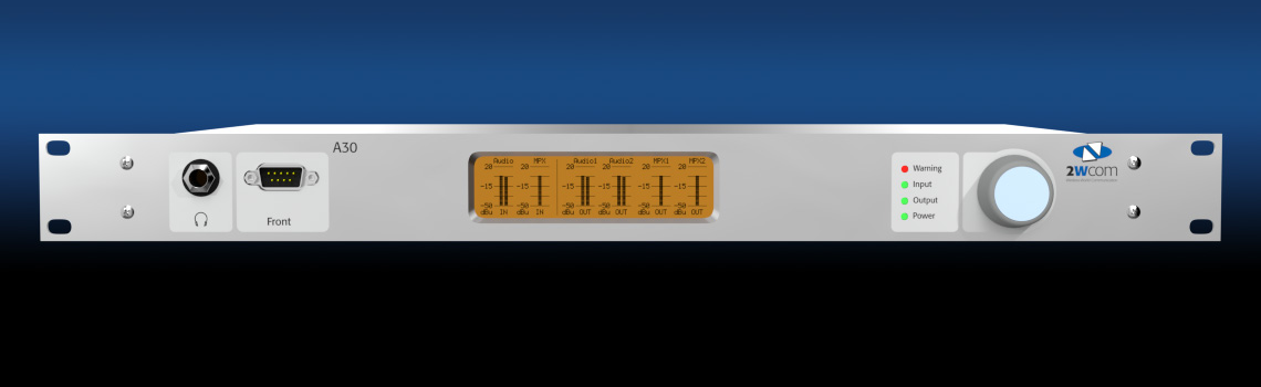 A30 - FM Monitoring Receiver Decoder - front