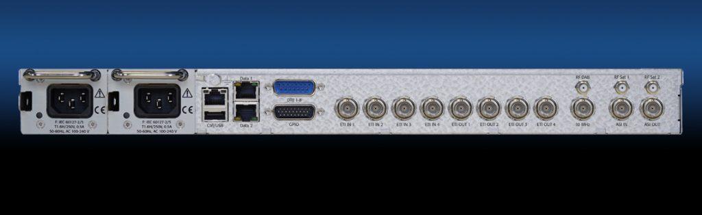 DAB-4c - EDI/ETI Converter - Rear