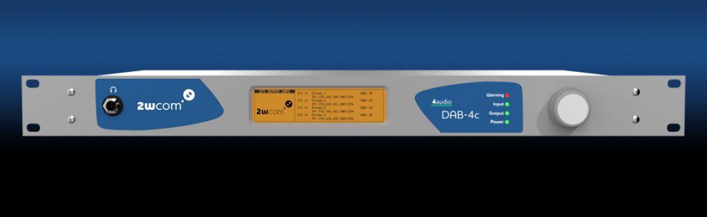 DAB-4c - EDI/ETI Converter - Front
