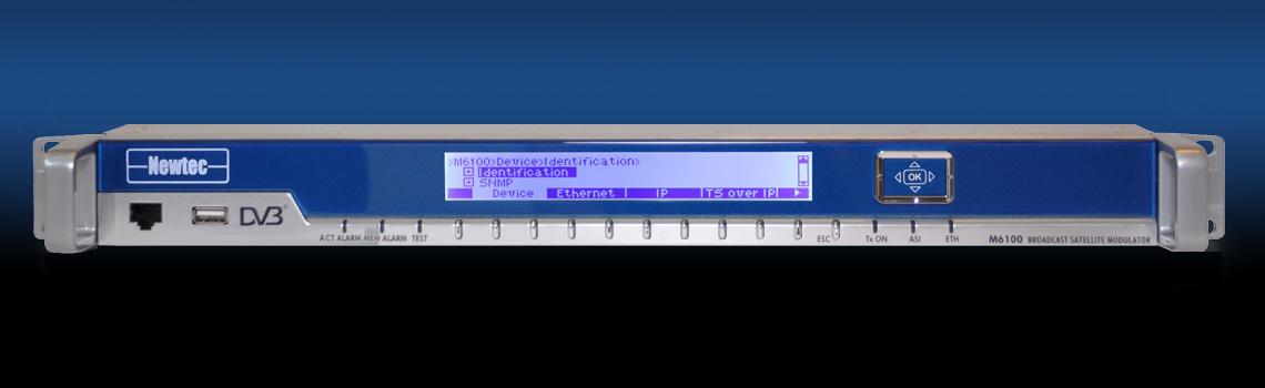 Newtec M6100 - Satellite Modulator- front
